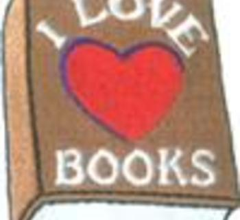 I Love Books Patch 1