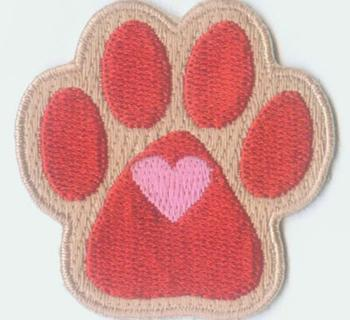 Clifford the Red Dog Patch