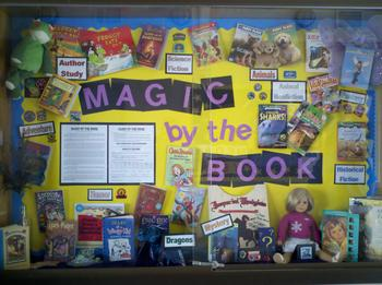 Magic by the Book Display 2012.JPG
